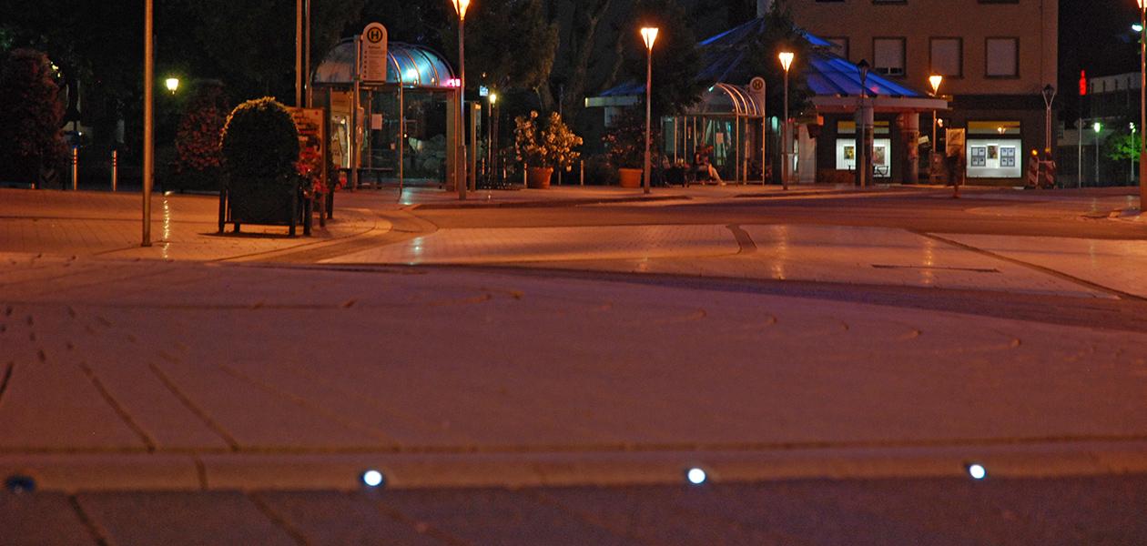 Pavés lumineux LED