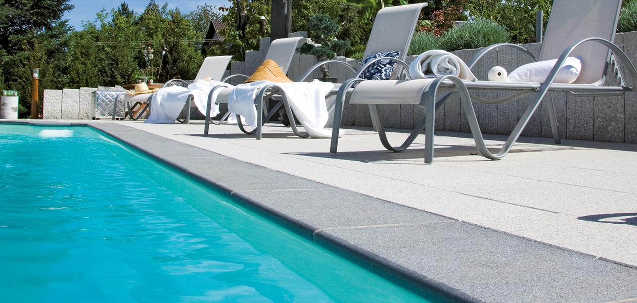 Margelles de piscine